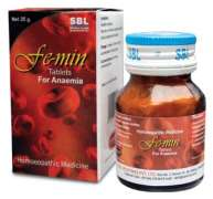 SBL FEMIN Tablets For Anaemia
