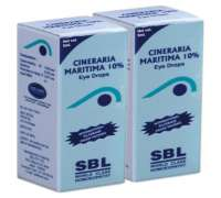 SBL homeopathy cineraria maritima 10 eye drops