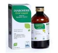 SBL homeopathic medicine for diabetes Diaboherb