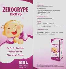 SBL ZEROGRYPE Drops Gas and Colic in Children