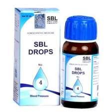 SBL DROPS No 4 for high blood pressure