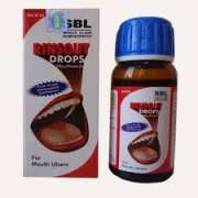 Homeopathic Medicine for mouth ulcer SBL RINSOUT