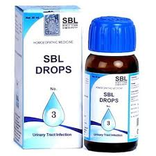 SBL Drops no. 3 for urinary tract infection
