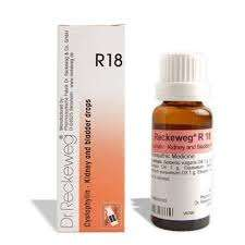 Dr. Reckeweg R18 Kidney and Bladder Drops