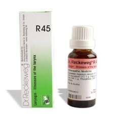 Dr. Reckeweg R45 Voice Hoarseness-illness of the larynx