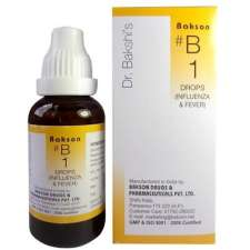 Bakson B1 Homeopathy drops for Influenza