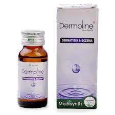 Medisynth Dermoline drops for eczema dermatitis