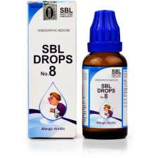 SBL Drops No. 8 for Allergic rhinitis