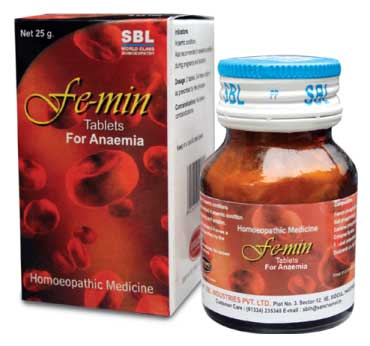 Sbl Femin Tablets For Anemia