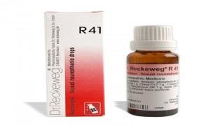 Dr. Reckeweg R41 Lack of Vitality and Sexual Weakness