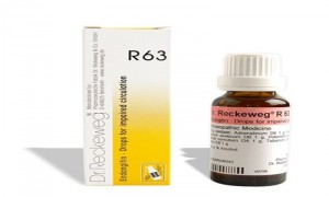 Dr. Reckeweg R63 Drops for Impaired Circulation