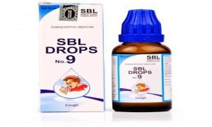 SBL Drops No 9 Cough Drops